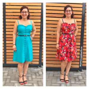 4 Wochen, 4 Kleider – mein Ergebnis