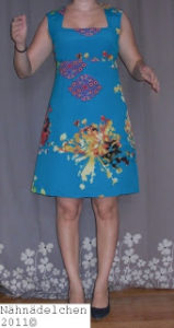 Me Made Mittwoch mit neuem Kleid Burda 05/2010 Schnitt 106