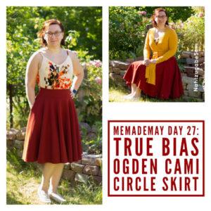 MeMadeMay Tag 27: drei Lieblingsschnitte in einem Outfit
