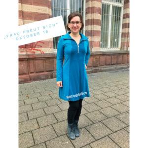 """""""Frau freut sich"""" – Oktober"""