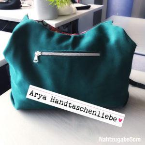 Leder-Handtasche Arya