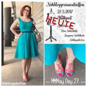 Nähbloggerinnentreffen in Stuttgart – so war's und Infos zum neuen Kleid