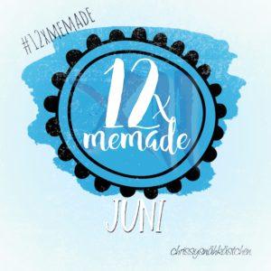 Logo 12xMeMade Juni