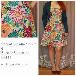 MeMadeMittwoch im Bloggertreffen-Kleid