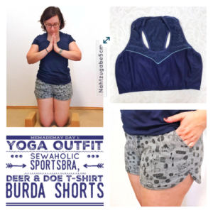 MeMadeMay Tag 1: mein Yoga Outfit