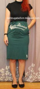 MeMadeMittwoch: zwei Shirts ergeben ein Kleid