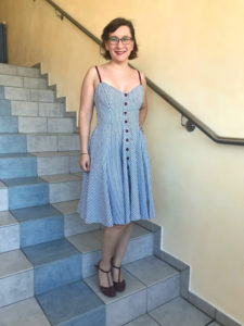 MeMadeMittwoch im neuen Sommerkleid