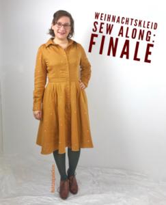 Weihnachtskleid Sew-Along 2019: Finale