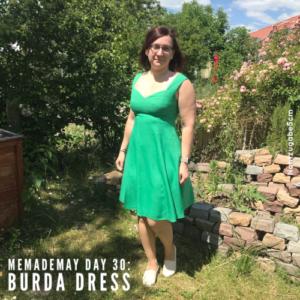 MeMadeMay Tag 30: Das Ein-Jahres-Kleid